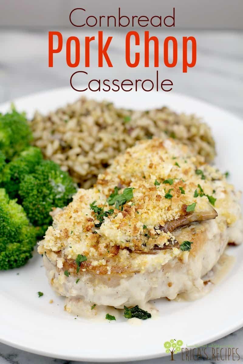 Cornbread Pork Chop Casserole