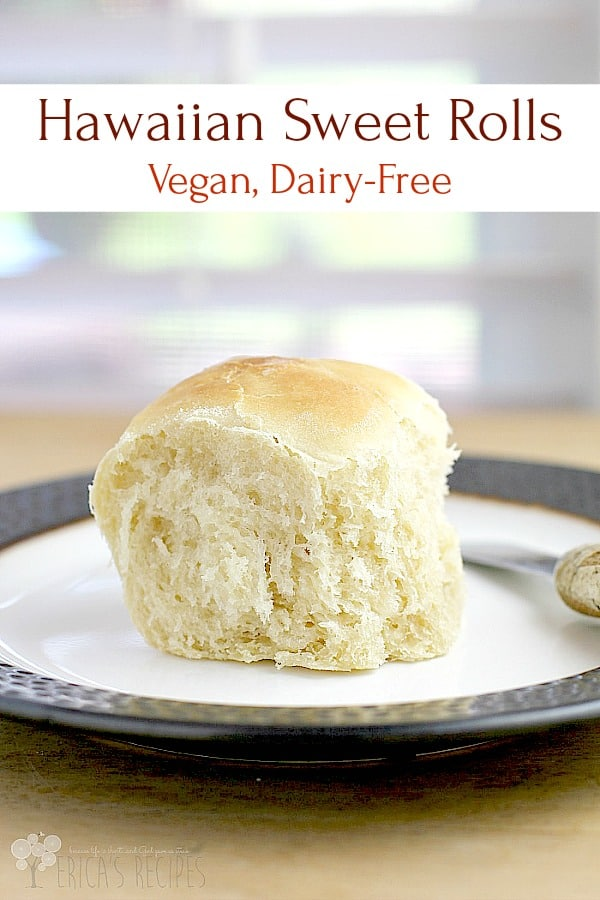 Make your own Hawaiian rolls! Homemade bread is one of the greatest things in life, and these dairy-free and egg-free, vegan sweetbunsare no exception. #recipe #vegan #vegetarian #Hawaiian #sweetrolls #bread #food