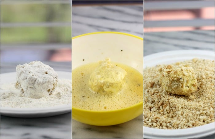 Fried Salsa Verde Macaroni and Cheese Balls #MakeGameTimeSaucy #ad