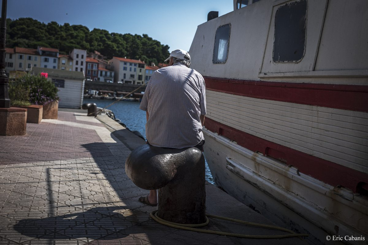 On the docks of Port-Vendres on 27 June 2020 Eric Cabanis Photojournalist