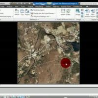 AutoCAD Civil 3D How To Insert Geo-Referenced Images Video