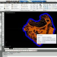 Extract AutoCAD Civil 3D Surface Border Video