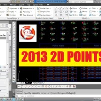 2013 AutoCAD Civil 3D Survey 2D Points Starter Template