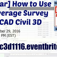 [Webinar] How to Use and Leverage Survey in AutoCAD Civil 3D