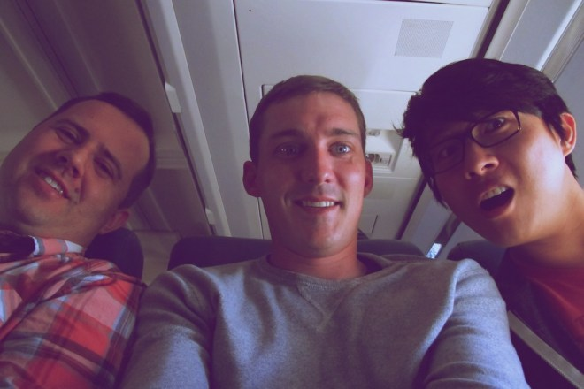 zappos-trip-peter-eric-john-flight