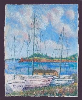 Souris Boatyard PEI