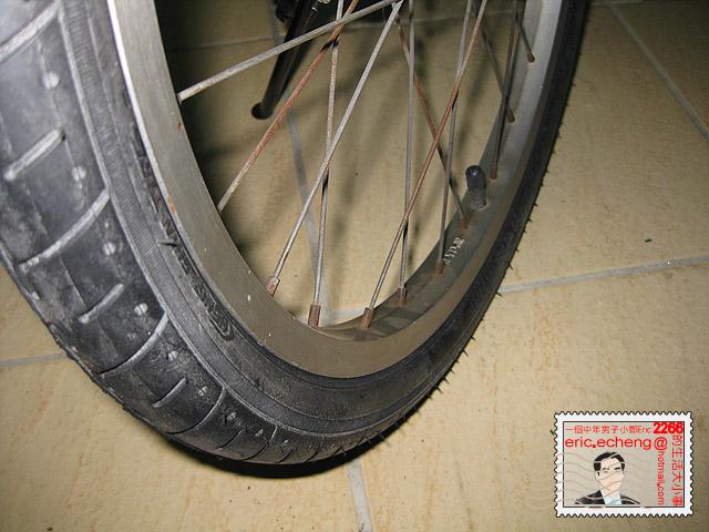 腳踏車輪胎更換 DIY | 一個中年男子小鄭 Eric 2266 的生活 543 事