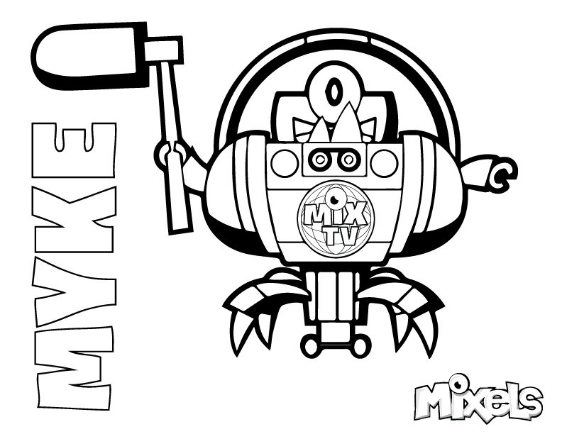 Lego Mixels Max Instructions Series 1