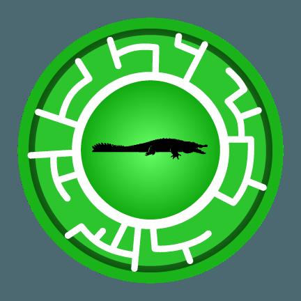 Crocodile Creature Power Disc My Little Corner