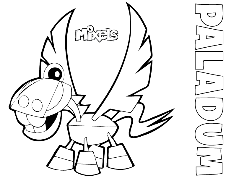 mixels coloring pages 28 images mixel coloring page my corner