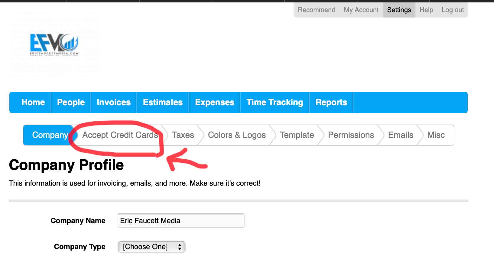 Step two for Lowering Paypal Transaction Fees