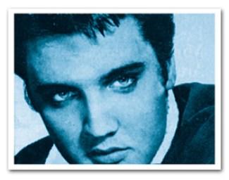 Blue Elvis Eyes
