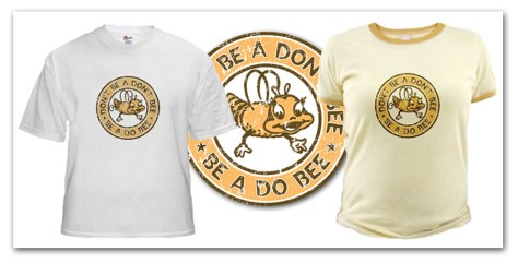 Do Bee T-Shirt by Eric Hatheway