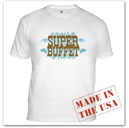 Super Buffet Organic Cotton T-Shirt