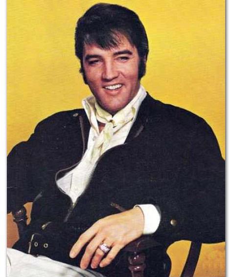 """Elvis Says """"Hey"""""""