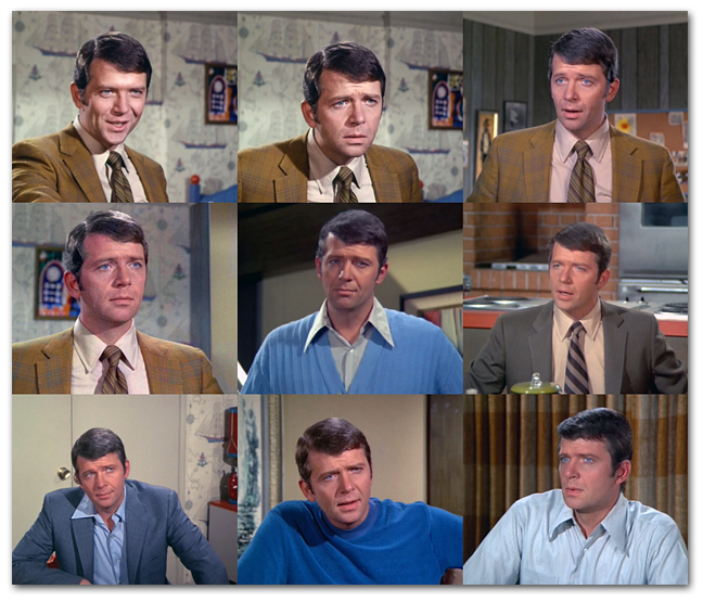 Many Faces Of Mike Brady
