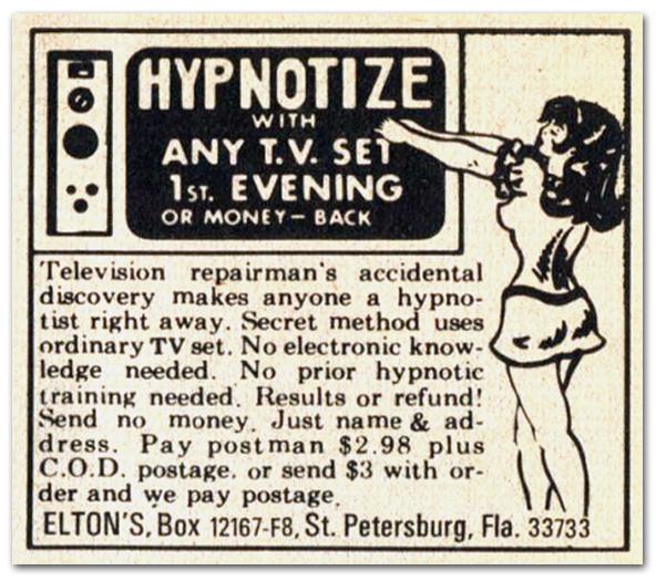 Hypnotize With Any T.V. Set