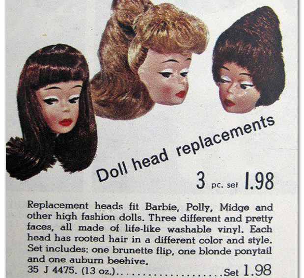 Doll Head Replacements