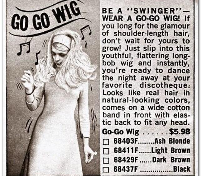 Go-Go Wig
