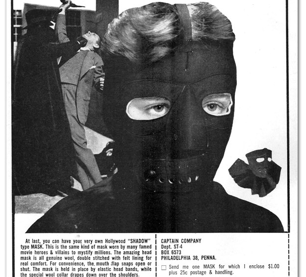 Own A Real Shadow-Type Mask