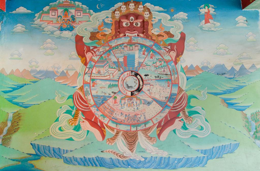 Wheel of Existence (Bhavacakra)