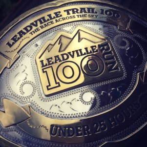 Leadville Trail 100 Run Sub 25-hour Belt Buckle