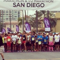 Erich Wegscheider at the 2015 San Diego Rock 'n Roll Marathon