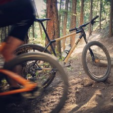 Erich Wegscheider riding a Boo Bicycles RS-M 29er