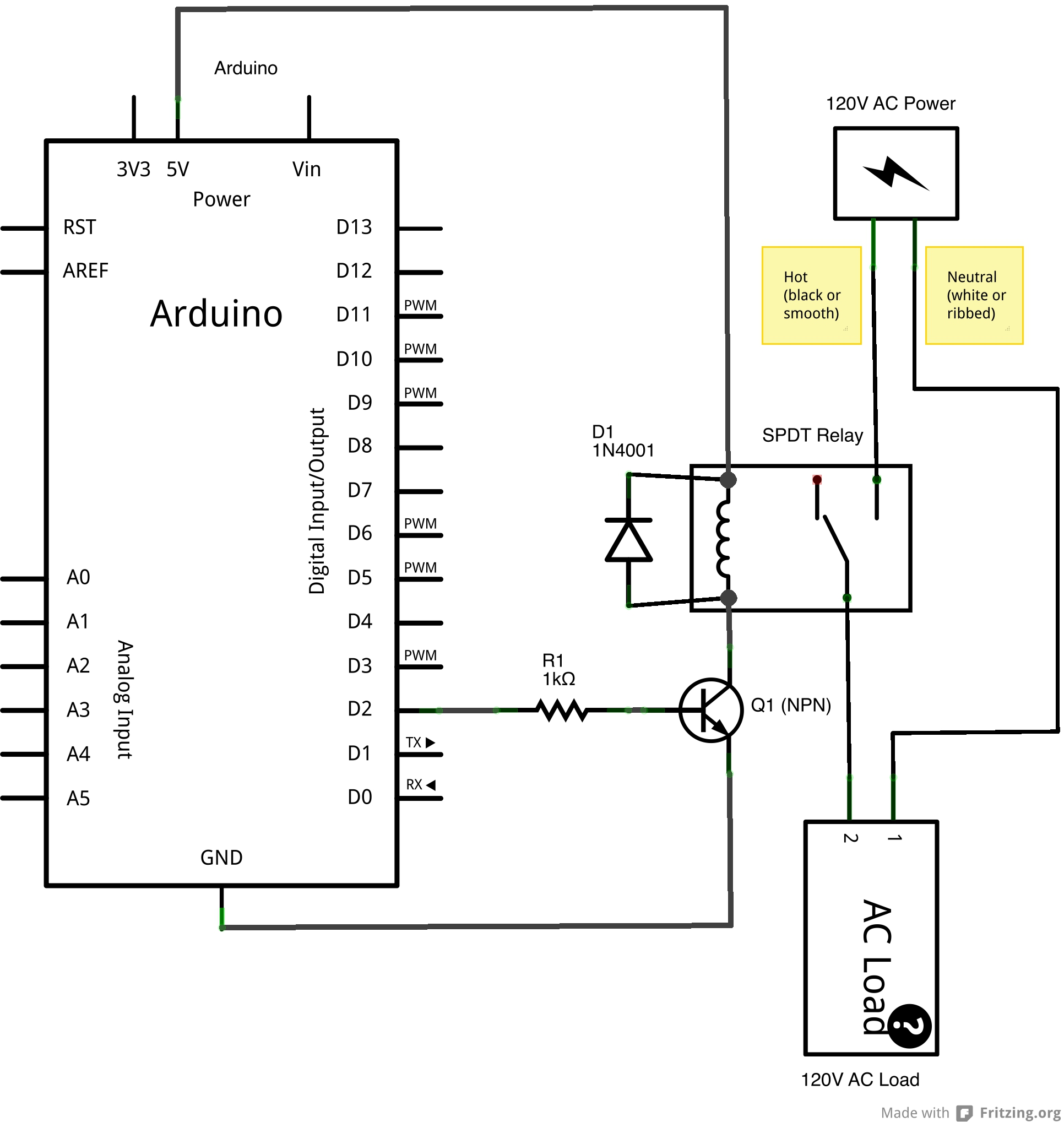 5 Terminal Relay Wiring Diagram