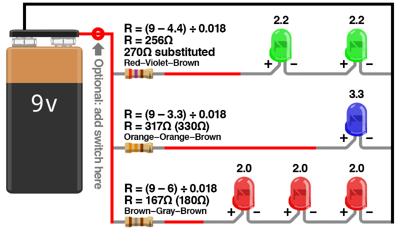 typical light switch wiring diagram for 3 pin flasher relay ohm's law and series/parallel – eric j. forman teaching