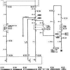 Mitsubishi Mirage Stereo Wiring Diagram 7 Wire Plug 1997 Headlight