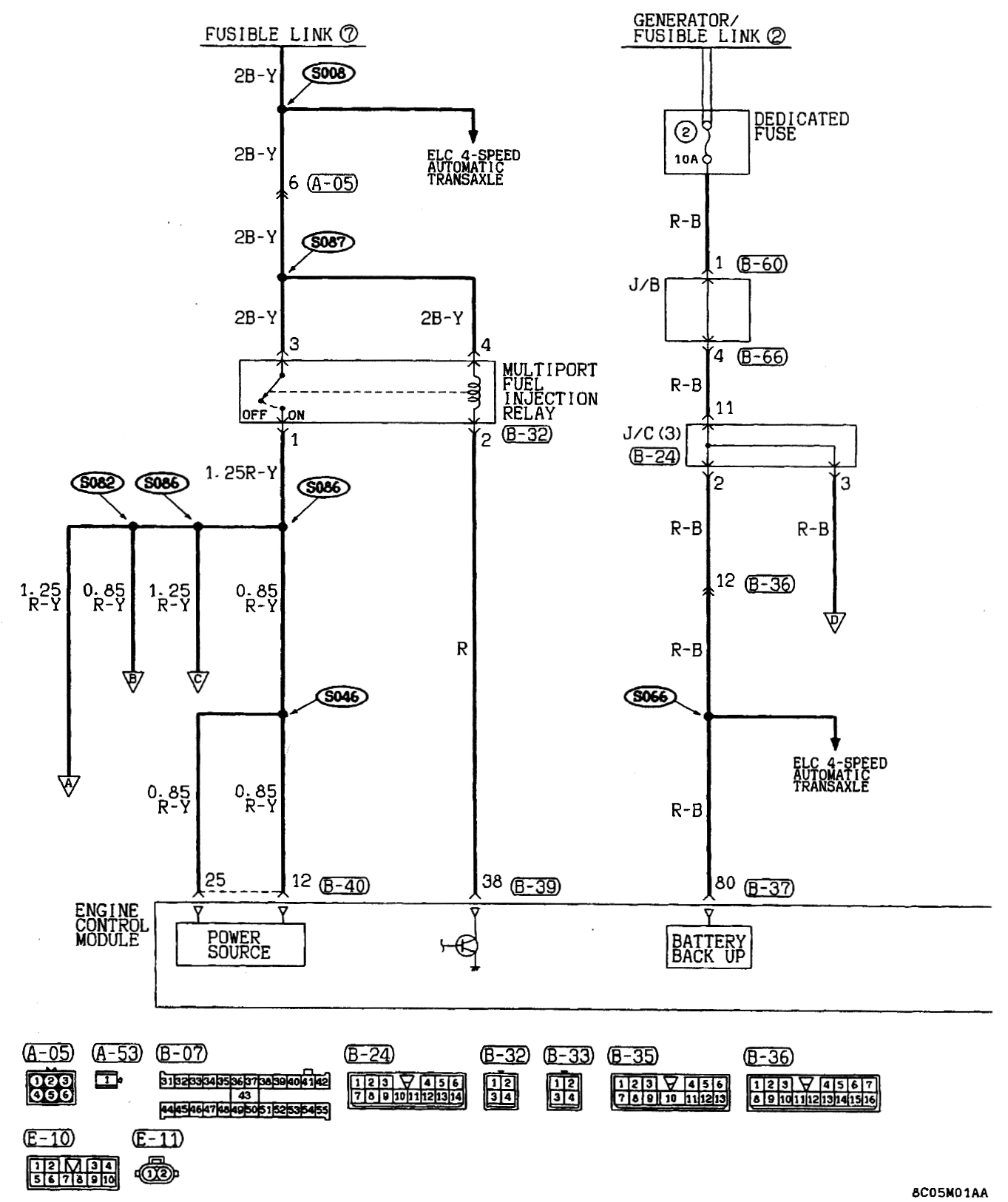 mitsubishi mirage stereo wiring diagram 2002 toyota sequoia parts 1998 37