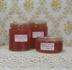 rosehip and haw jelly