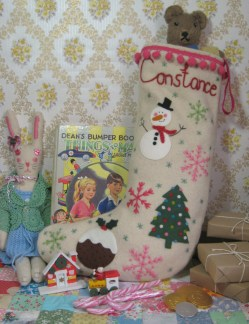 Christmas stocking for Constance