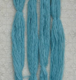 washed skeins of aplaca and silk