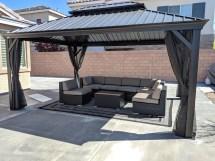 Home Improvement Ohana Outdoor Patio Wicker Furniture