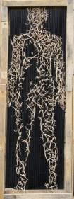 Transparentis - 80x211x30cm (Sélection du 85 ème salon S.A.M)