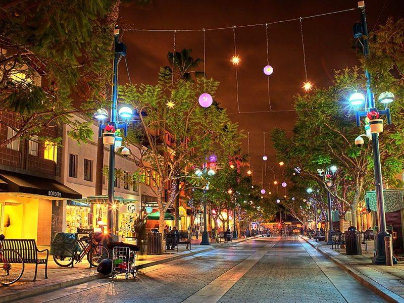 3rd Street Promenade HDR