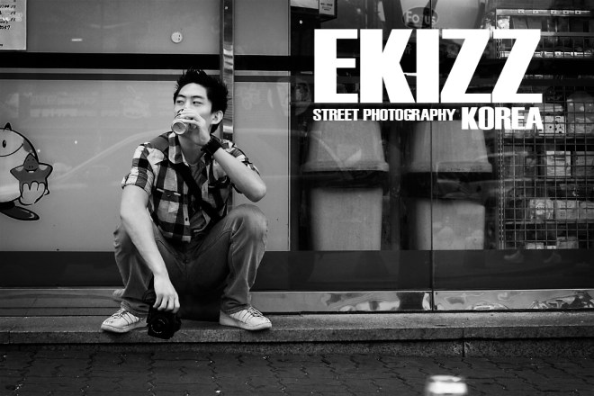 Street Photography, Korea. Portrait by Charles Choo Jr.