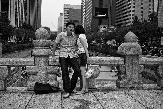 """Camera Shy"" - Seoul, Korea."