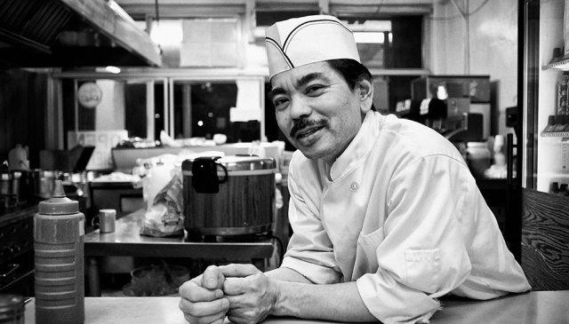 """""""Shinji"""" - Head chef of Oki's Dog on Pico"""