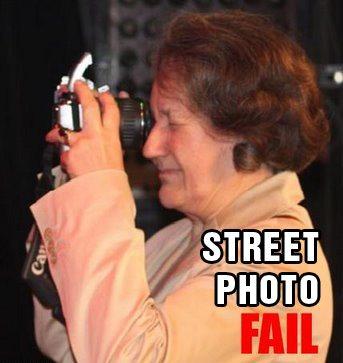 Street Photo Fail