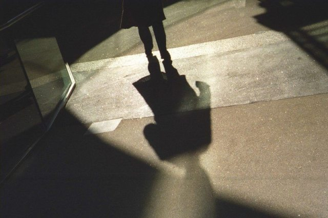 """Leaving"" - Shot with my Contax IIIa"