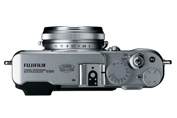 Fujifilm FinePix X100 Top