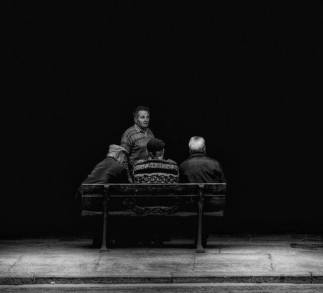 """Old Friends"" - Laurent Roch"