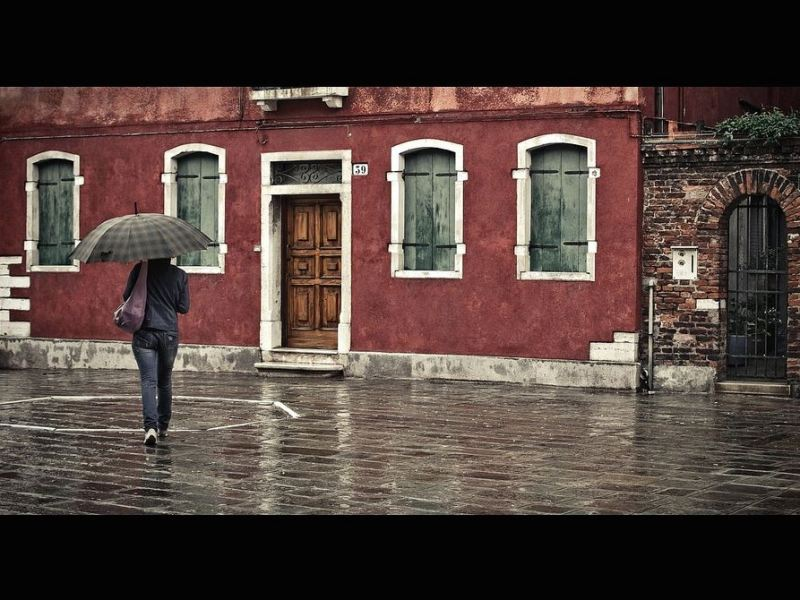 It was a rainy day in Murano by Fabrice Drevon