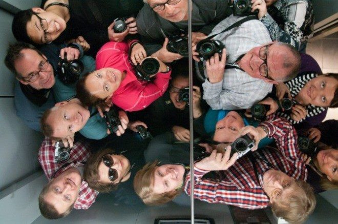 Stockholm Introduction to Street Photography Workshop at Fotografiska, 2012