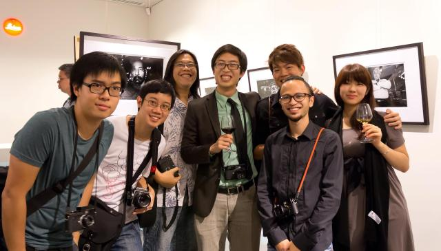 """At the Leica store in Singapore for my """"Proximity"""" Exhibition in 2012."""
