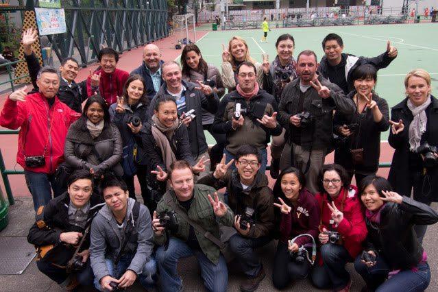 Hong Kong Street Photography Workshop Snapshots with Gary Tyson
