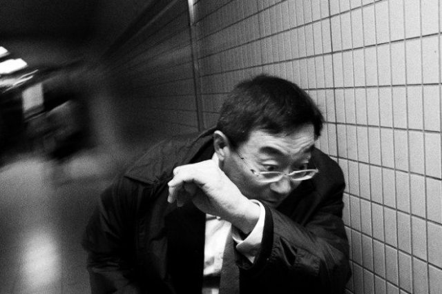 """A Photograph from my """"Dark Skies Over Tokyo"""" series, 2011. I originally oversaw this image, and my good friend and fellow street photographer Charlie Kirk mentioned to me that he thought it was one of my best shots. If it wasn't for him, I wouldn't have chosen it!"""